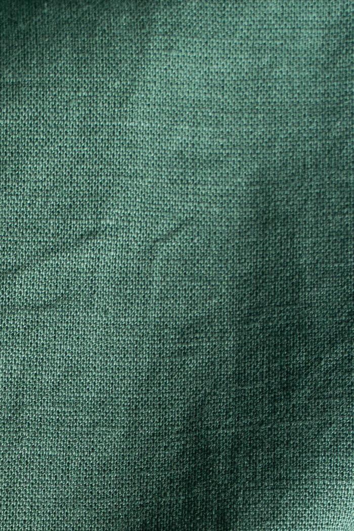 Ткань с эффектом мятости п лен хвоя фото 4>                   <span class=