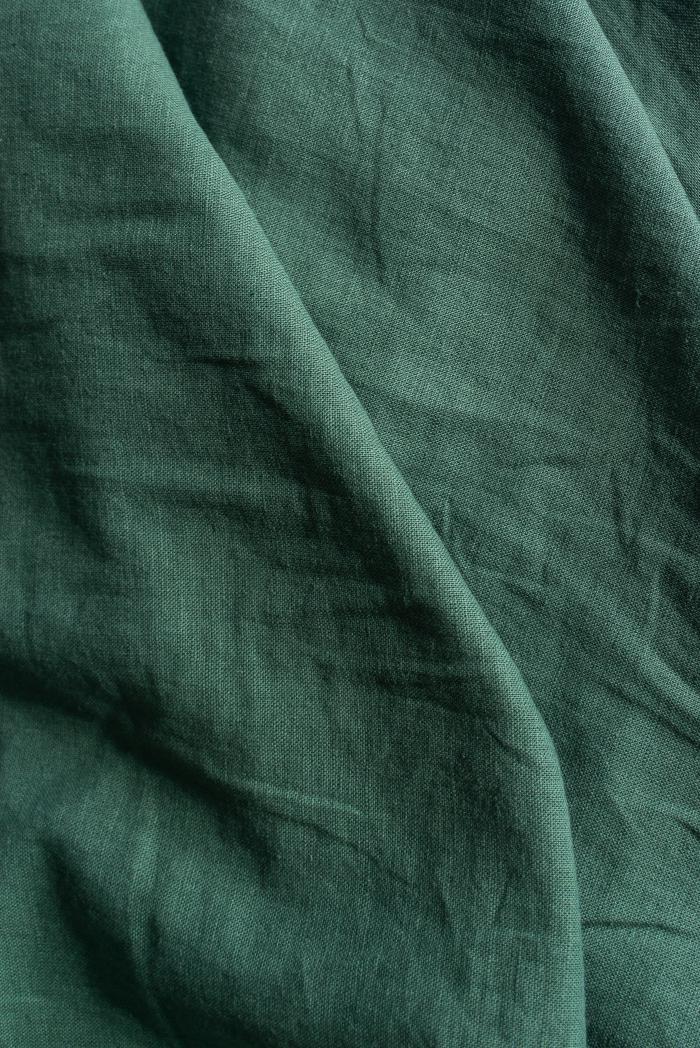 Ткань с эффектом мятости п лен хвоя фото 5>                   <span class=