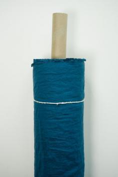 Ткань с эффектом мятости п лен посейдон фото 1
