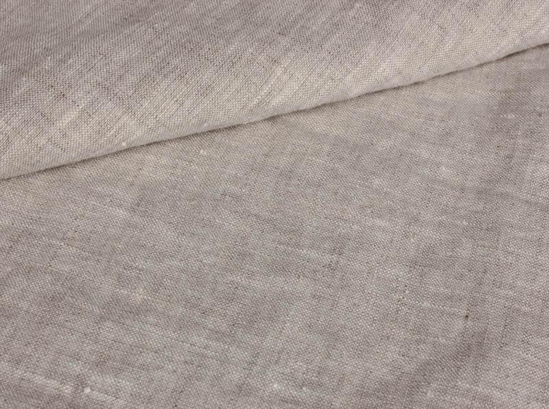 Ткань с эффектом мятости лен 100 серая белка фото 1>                   <span class=