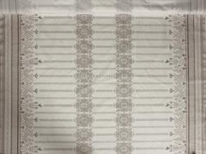 Ткань скатертная хлопок 100 коники серые фото 2>                   <span class=