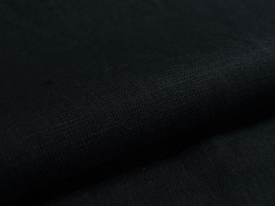 Ткань скатертная лен 100 черный принц фото 1>                   <span class=