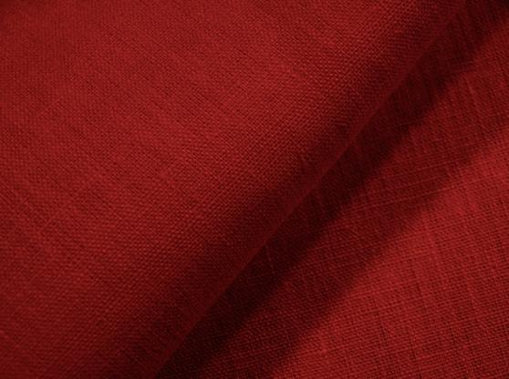 Ткань скатертная лен 100 клюква фото 1