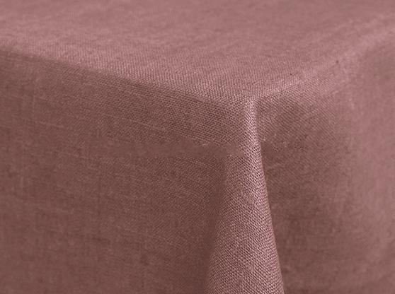 Ткань скатертная лен 100 лавандовое поле фото 1