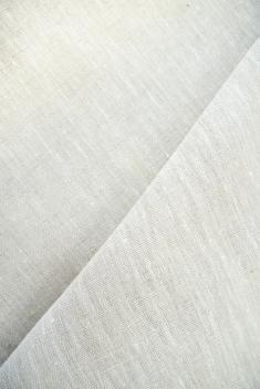 Ткань скатертная лен 100 песчаная осока фото 1