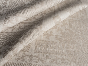 Ткань скатертная лен 100 рустик фото 2