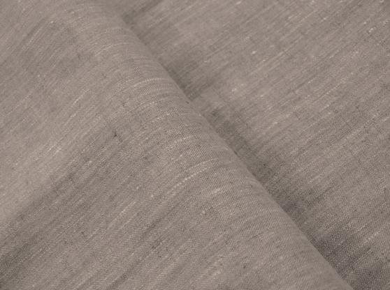 Ткань скатертная лен 100 серая трава фото 1>                   <span class=