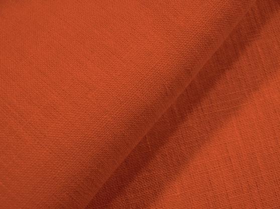 Ткань скатертная лен 100 спелая хурма фото 1>                   <span class=
