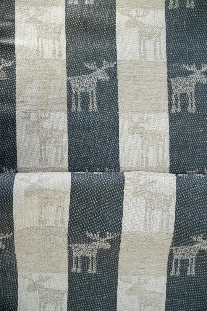 Ткань скатертная п лен лоси маленькие фото 4>                   <span class=