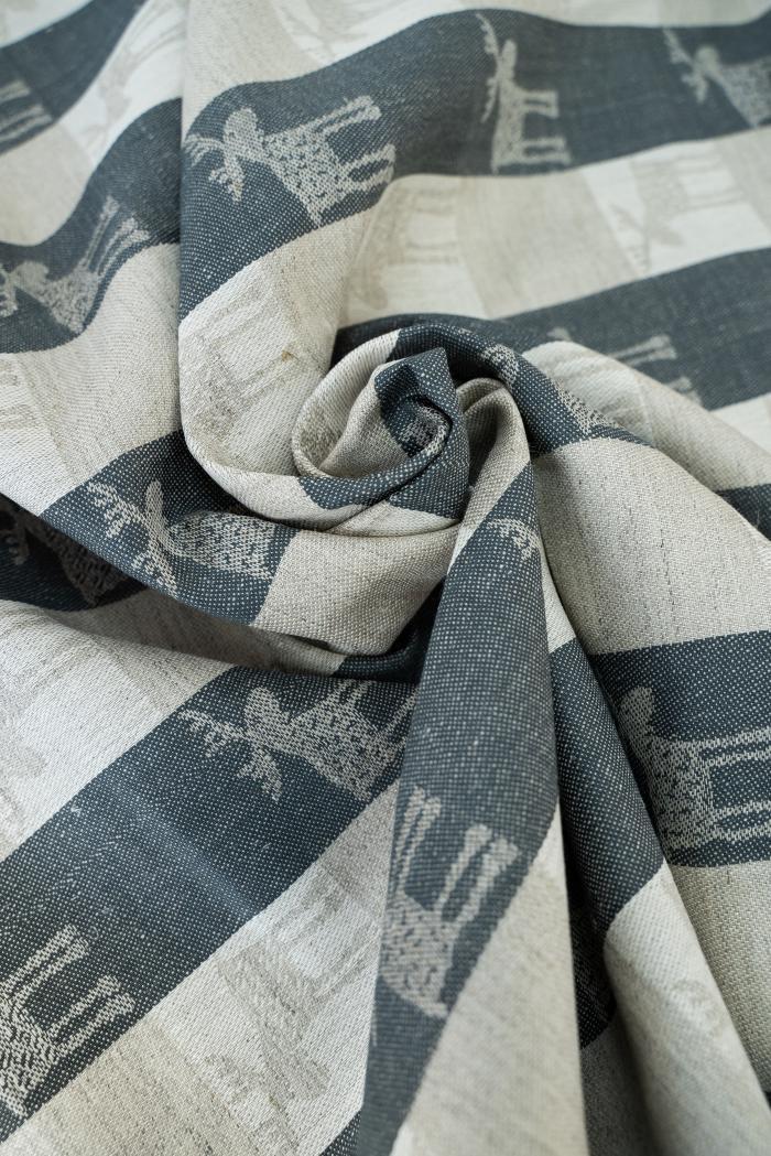 Ткань скатертная п лен лоси маленькие фото 6>                   <span class=