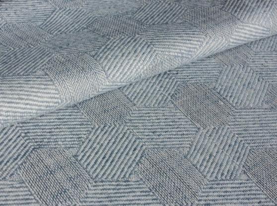 Ткань скатертная п лен серые соты фото 1