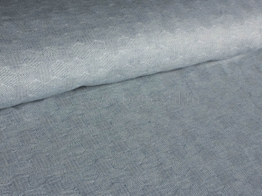 Ткань скатертная п лен серые соты фото 2