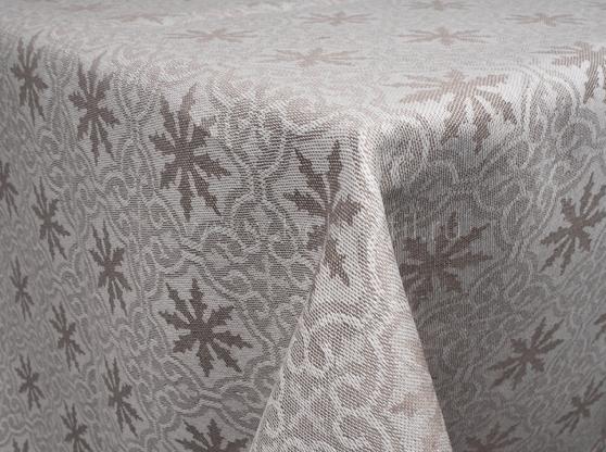 Ткань скатертная п лен снег фото 1>                   <span class=