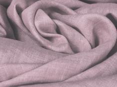 Ткань костюмная лен с вискозой майская сирень фото 1