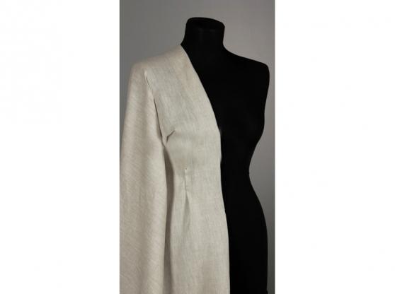 Ткань сорочечная лен 100 натуральный серый фото 1>                   <span class=
