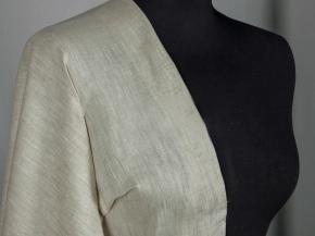 Ткань сорочечная лен 100 натуральный серый фото 3>                   <span class=