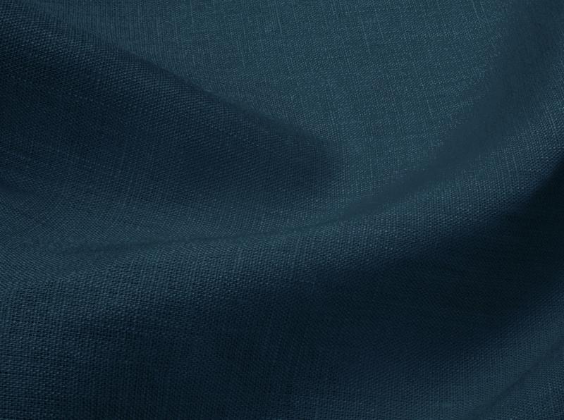 Ткань сорочечная лен 100 синий джинс фото 1>                   <span class=