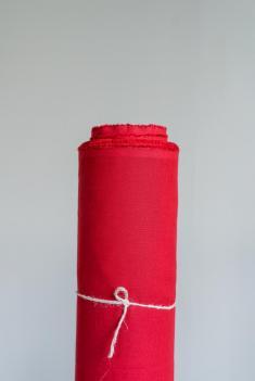 Ткань сорочечная п лен брусника фото 1