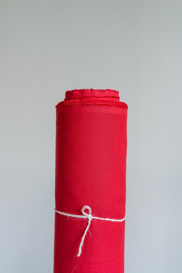 Ткань сорочечная п лен брусника фото 1>                   <span class=