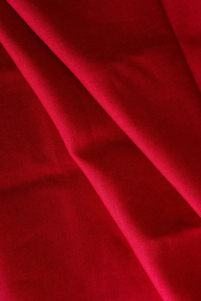 Ткань сорочечная п лен брусника фото 4>                   <span class=