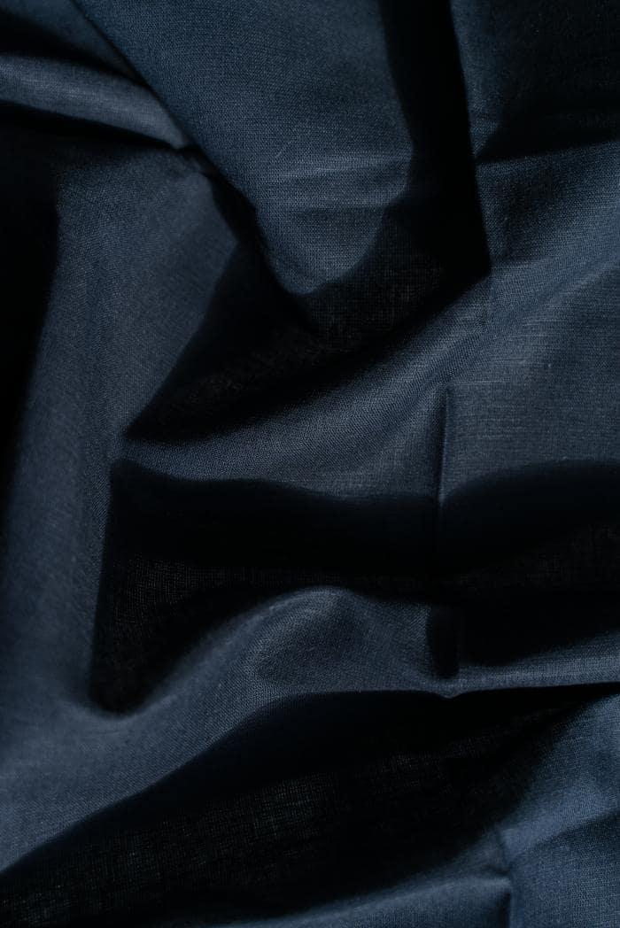 Ткань сорочечная п лен черная ночь фото 4>                   <span class=