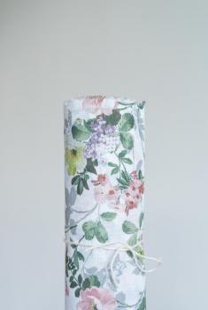 Ткань сорочечная п лен цветы фото 1