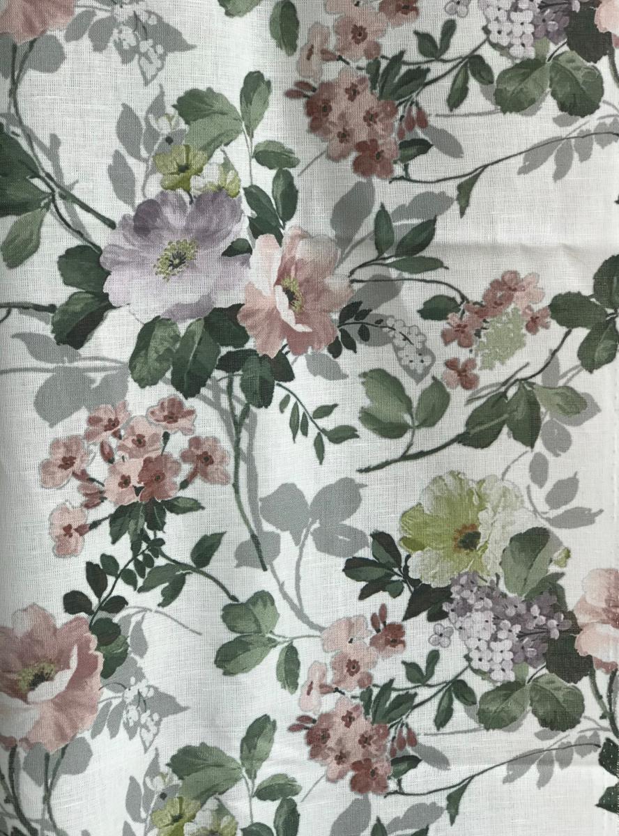 Ткань сорочечная п лен цветы фото 2>                   <span class=