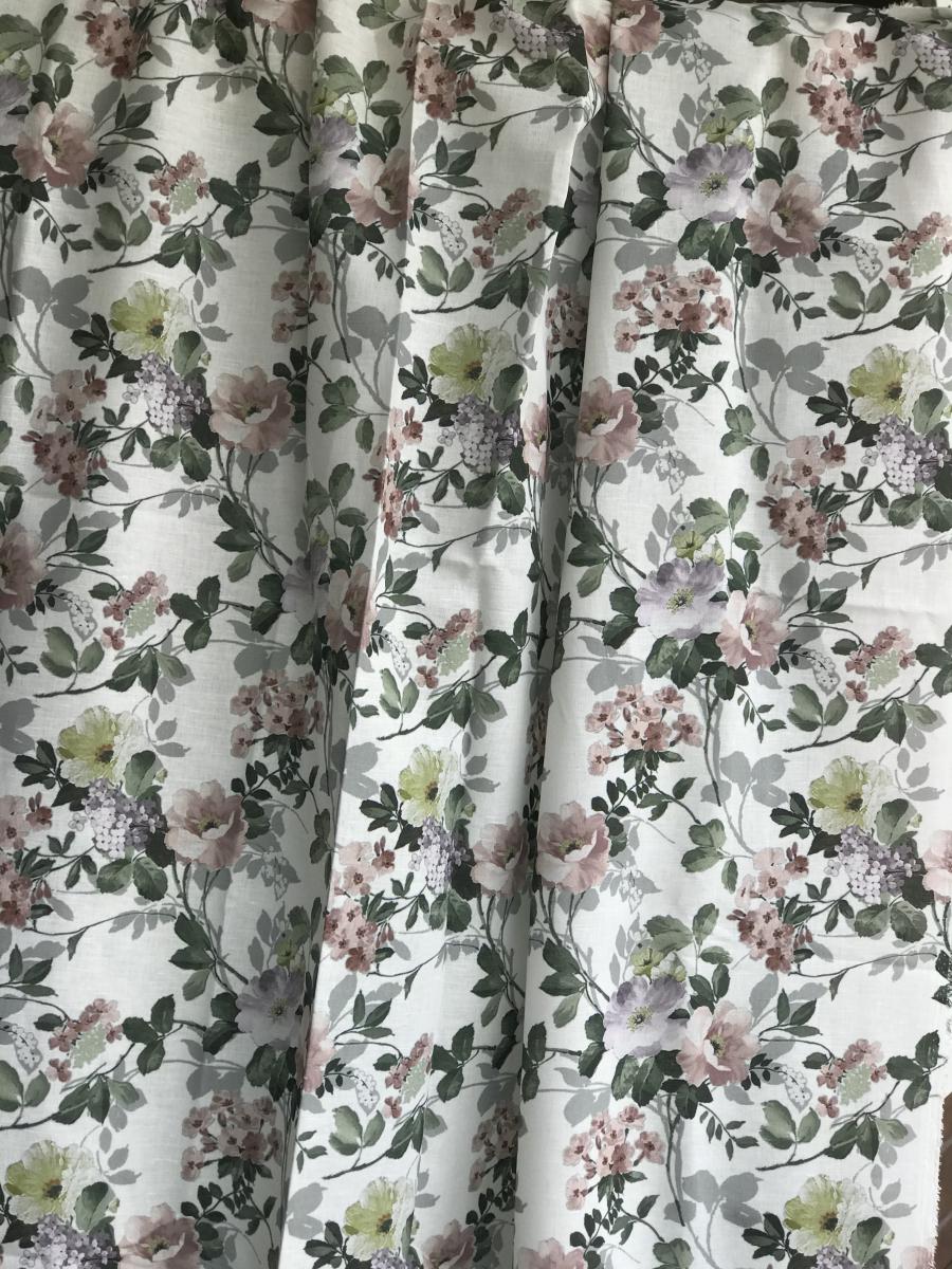 Ткань сорочечная п лен цветы фото 4>                   <span class=