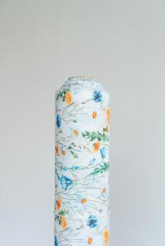 Ткань сорочечная п лен полевые цветы фото 1