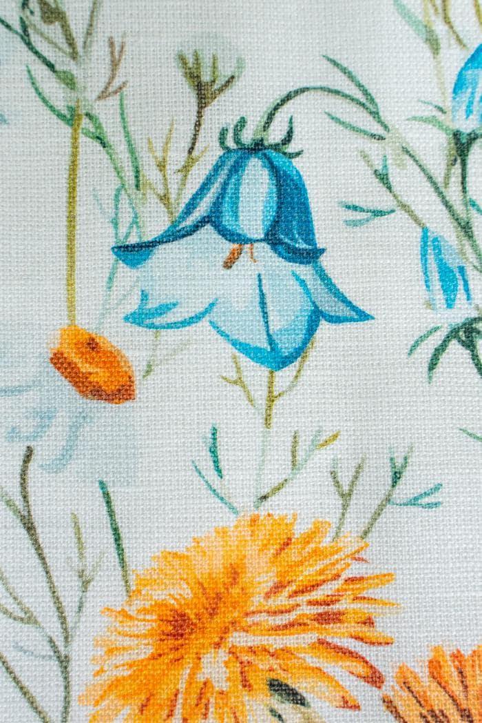 Ткань сорочечная п лен полевые цветы фото 4>                   <span class=