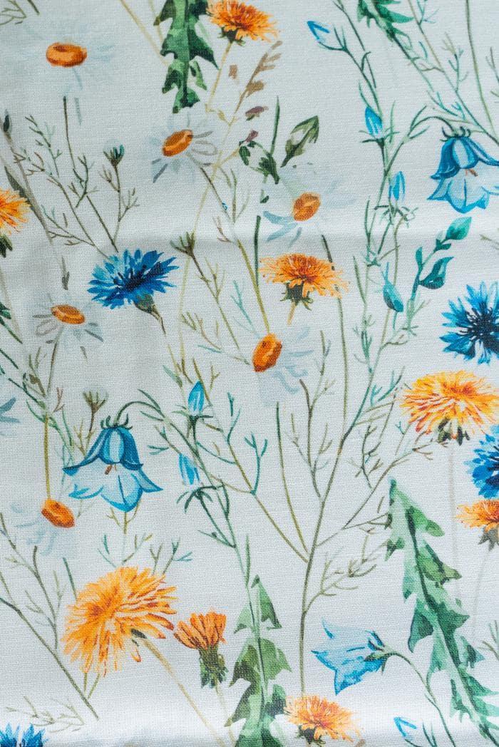 Ткань сорочечная п лен полевые цветы фото 7>                   <span class=