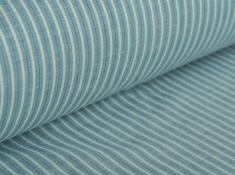 Ткань сорочечная п лен полоски 2 фото 1