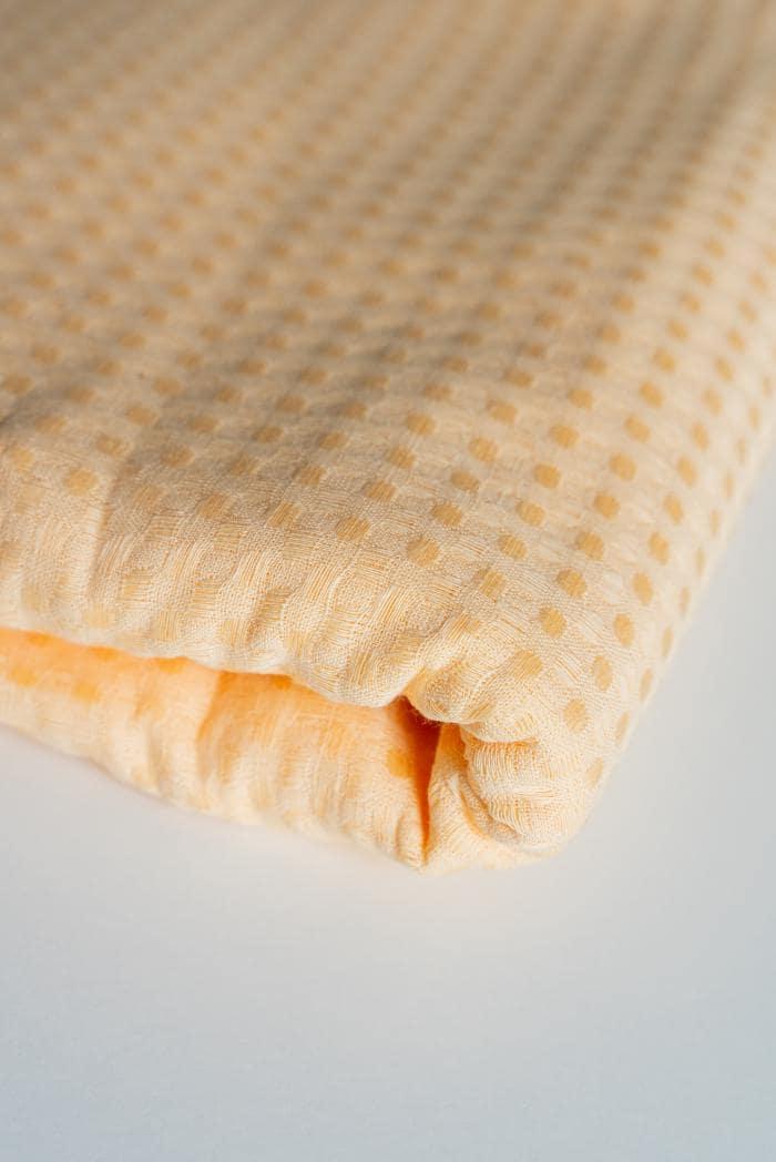 Ткань вафельная п лен персик фото 2>                   <span class=