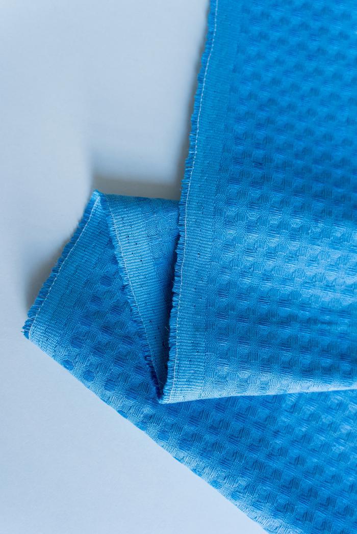 Ткань вафельная п лен синяя птица фото 4>                   <span class=