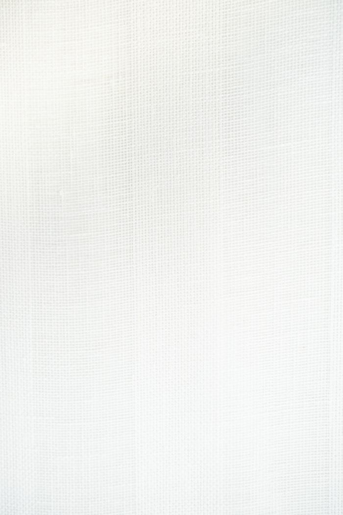 Ткань вуаль лен 100 белый тюльпан фото 2>                   <span class=