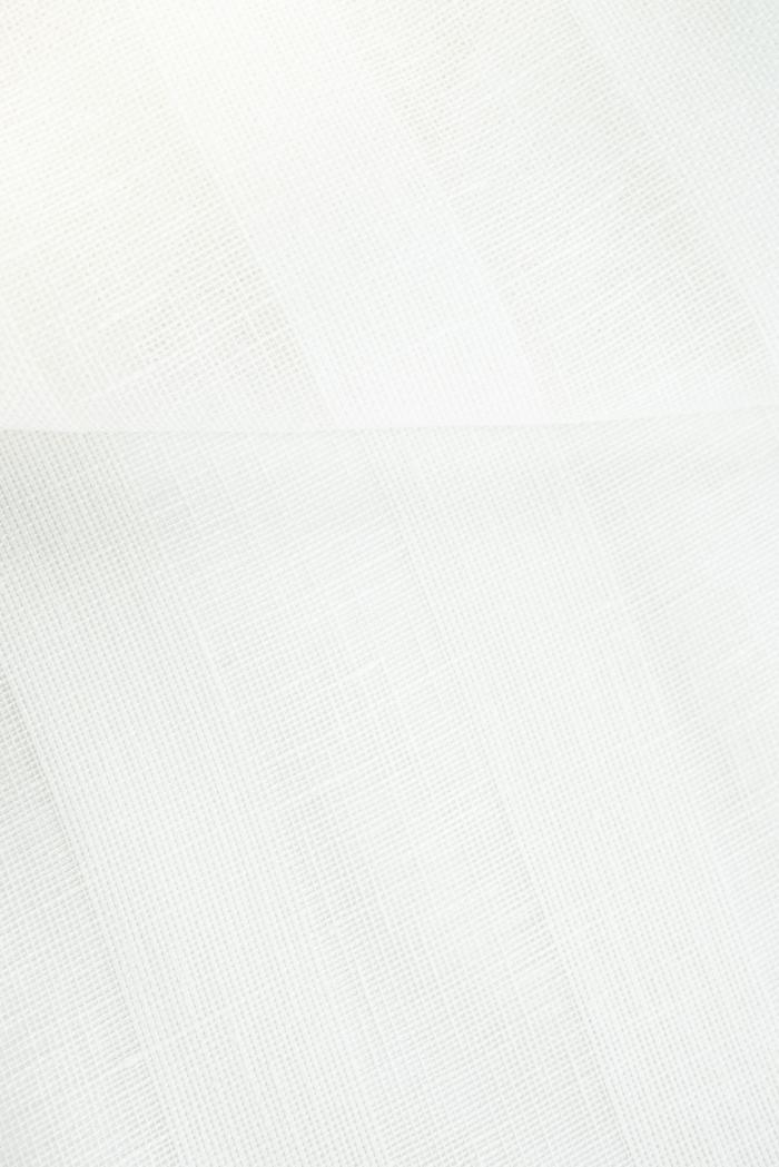 Ткань вуаль лен 100 белый тюльпан фото 3>                   <span class=