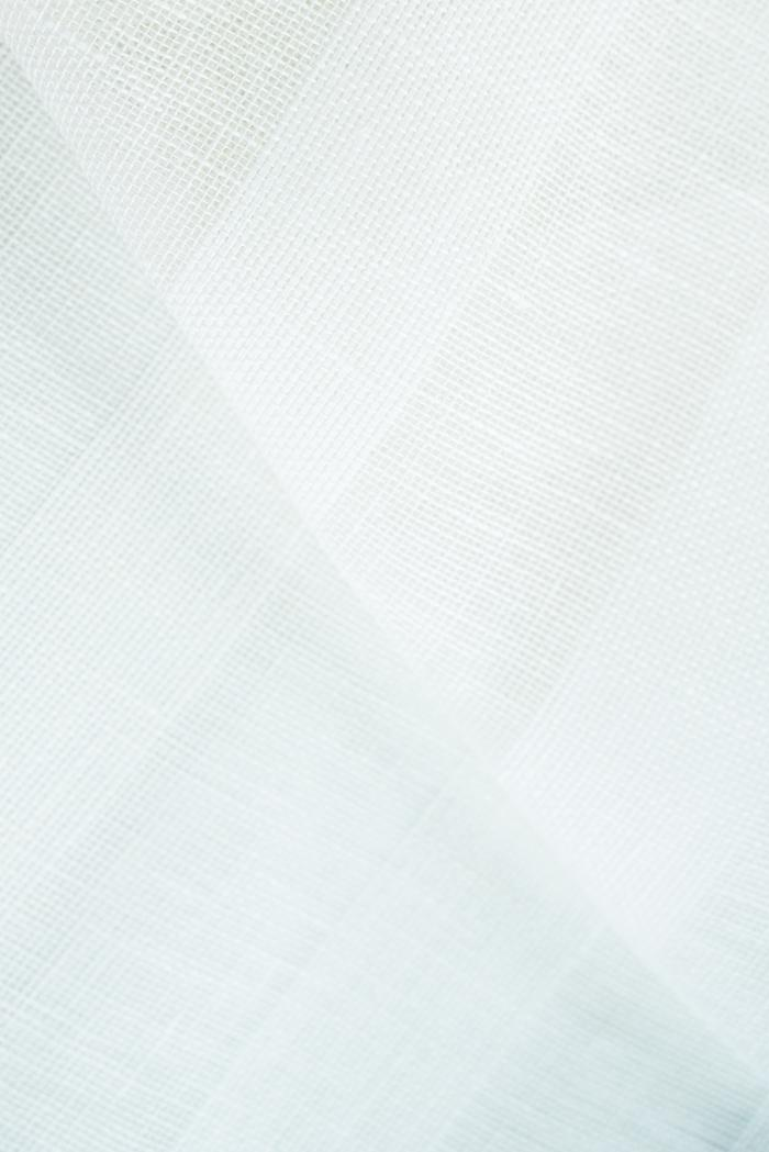 Ткань вуаль лен 100 белый тюльпан фото 4>                   <span class=