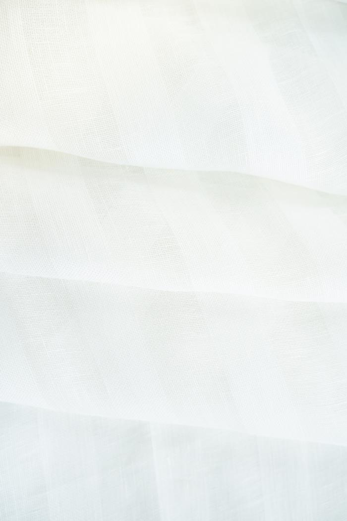 Ткань вуаль лен 100 белый тюльпан фото 5>                   <span class=