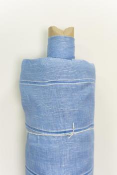 Ткань вуаль лен 100 мускари фото 1