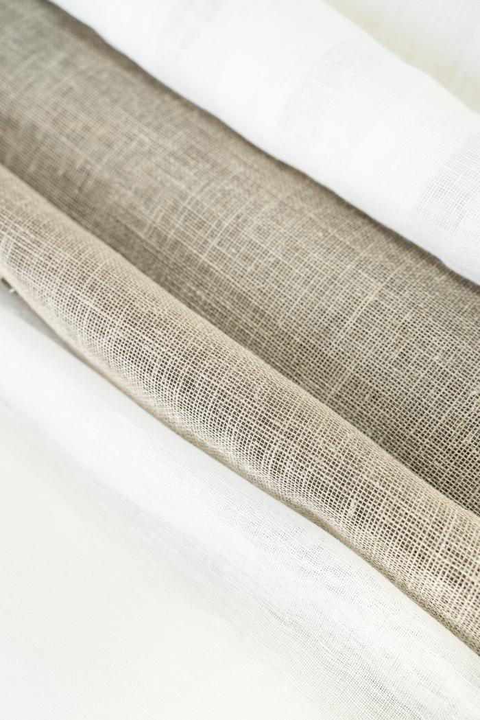 Ткань вуаль лен 100 серый лен фото 5>                   <span class=